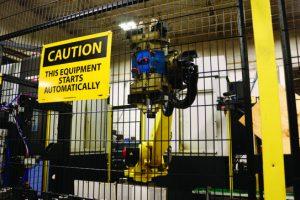 Brazo robótico con grippers Impresos en la MarkTwo