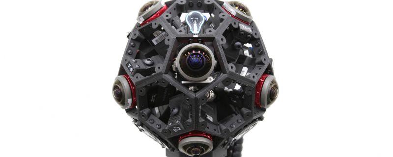 Estructura 360 para cámaras